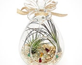 EARTH ANGEL terrarium ornament - gift, valentines day, gift for her, valentines day gift, party favor, hostess gifts, tabletop accent