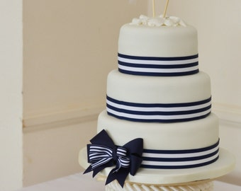 Anchors Away Wedding Cake Topper Anchors Boat Wedding Cake Topper  Sailing Sailing