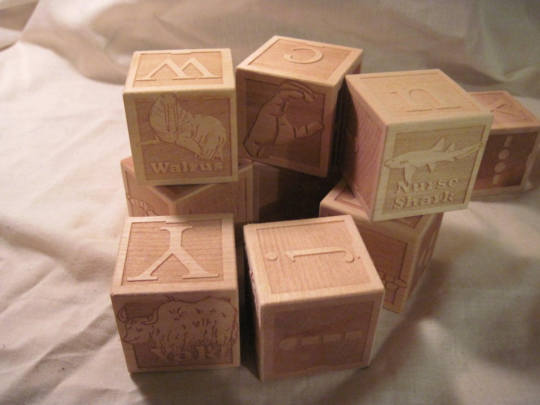 2 inch alt language wooden blocks asl braille morse code. Black Bedroom Furniture Sets. Home Design Ideas