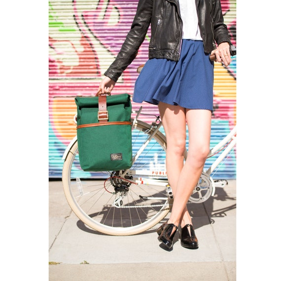 """The Pannier/Backpack with 13"""" Laptop Sleeve"""