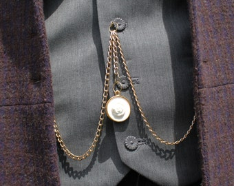 Albert Chain and/or Vest Buttons - Matt Smith Doctor Who Cosplay - Eleventh Doctor from Series 7B