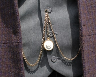 Albert Chain and/or Vest Buttons - Matt Smith/Eleventh Doctor Who Cosplay
