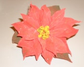 Gumpaste Poinsettia for Wedding Cakes and Winter Events - GumpasteGarden