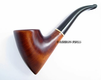 "Wooden tobacco pipe - Smoking Pipe ""Tomahawk"" Wooden pipe Special Designed for Pipe Smokers"