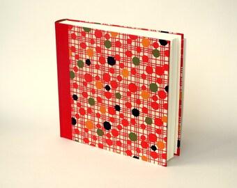 "Photo Album 23x23cm  (9x9"") - book cover orig. Japan KATAZOME  Design ""Retro"""