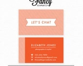 Premade Business Card Template