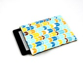Kindle Case / Kindle Cover / Kindle Sleeve /  Kindle Fire / Kindle Touch / Kindle Paperwhite / Kindle Voyage - Wheat:Blue