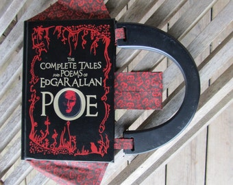 Book Purse: The Complete Tales and Poems of Edgar Allan Poe - CUSTOM MADE to ORDER