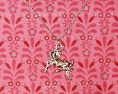 "Unicorn 18"" Charm Necklace"