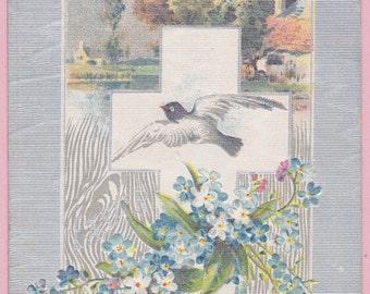 Ca. 1909 Easter Greetings Postcard - 1522
