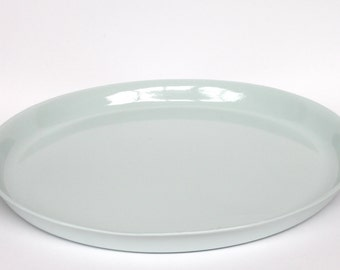 dinner plate 26cm - porcelain (glacier colour)