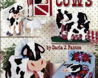 Cows  Plastic Canvas Pattern Book American School of Needlework 3096