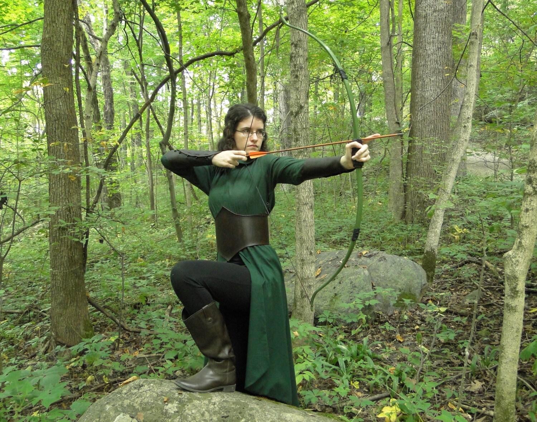 Elven Dress Costume Set Dress Leather Belt Amp Arm Bracers