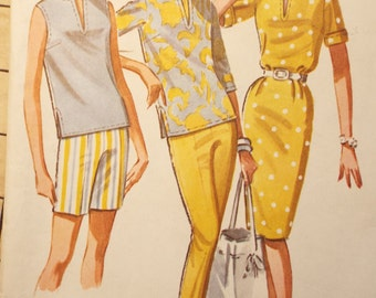 Your Summer Wardrobe is here McCalls Pattern 6653 1960s