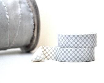 Two Tone Gray Bubble Circles Washi Tape