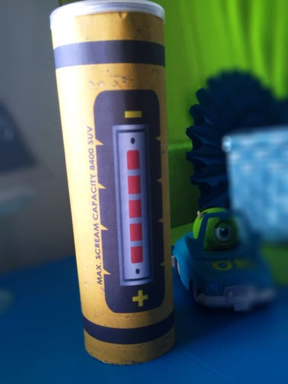 Monsters Inc Inspired Scream Canister Instant Download Do It