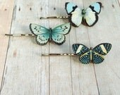 Blue Butterfly Hair Accessory