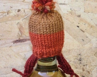 Firefly Inspired Teeny-Tiny Cunning Knit Hat: Keychain, Wine Topper, Ornament