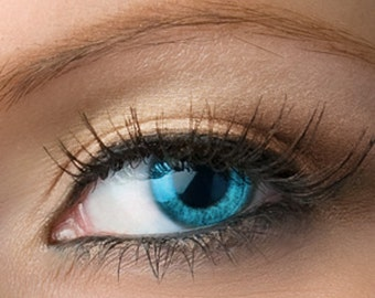 "Champagne Beige Eyeshadow - ""Charm"" - Shimmer Vegan Mineral Eyeshadow Net Wt 2g Large Mineral Makeup Eye Color Pigment"