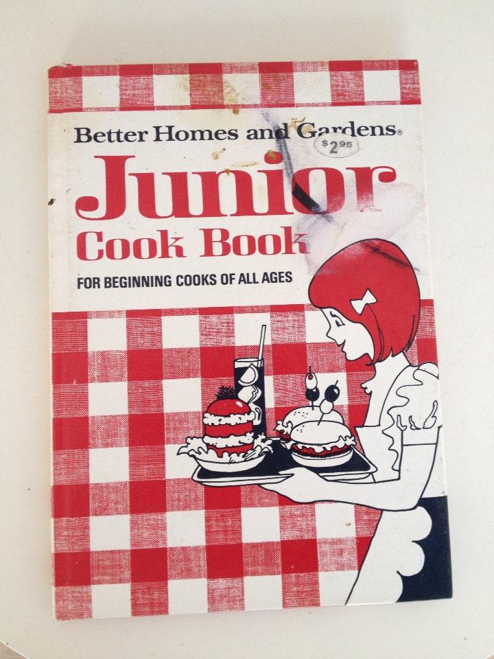 Vintage Kids Better Homes Jr Cookbook For Beginning Cooks Of