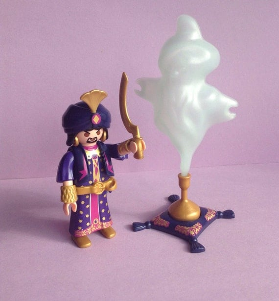 Playmobil Geobra Aladdin Genie Magic By Girlystuffbydejavu