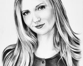 Custom  Portrait Pencil Drawing from your photo, Portrait sketch, Portraits by commission, Portrait Art, Realistic, FREE Digital format