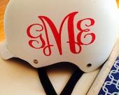 Preppy Personalized Bike Helmets