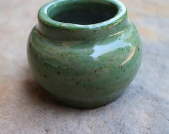 Tiny Planter - Sage Green - Succulent Planter - Tiny Flower Pot