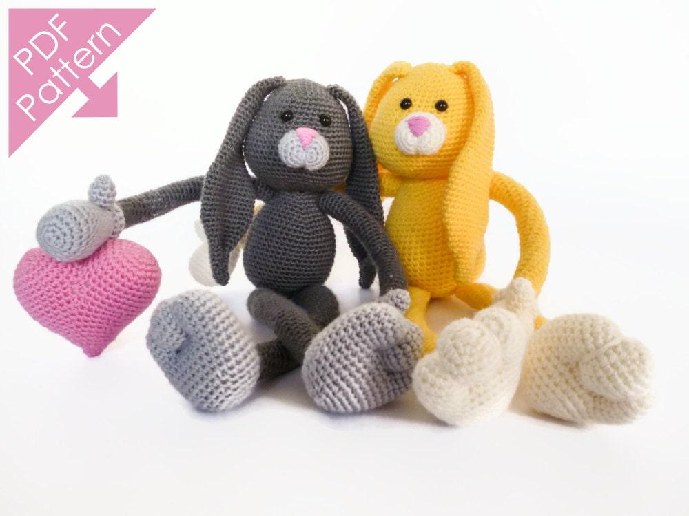 Etsy Amigurumi Bunny : Bunny Bo Amigurumi Crochet Pattern