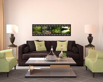 Film Strip Style Frame -  Wall Decal Custom Vinyl Art Stickers
