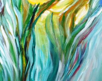 Dancing in Moonlight Original Painting