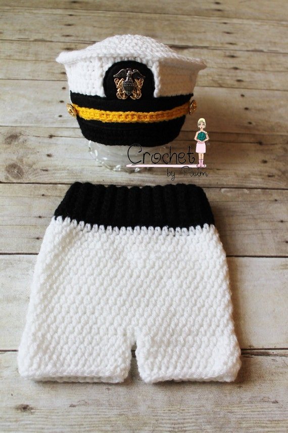 Crochet Pattern Military Hat Pakbit For