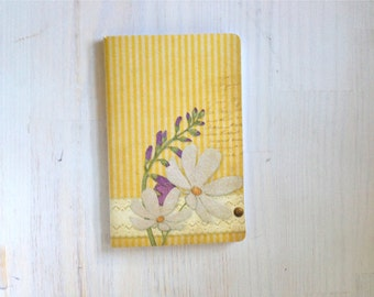 Large Notebook: Yellow, Flowers, Wedding, Notebook, Unlined, Journal, For Her, For Him, Gift, Unique, Blank Journal, Unlined Journal, L8-004