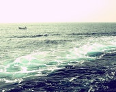 Mediterranean Sea Float - Italy - Water Landscape Nature Travel Photography Print 5x7