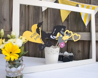 Printable Photo Booth Accessories