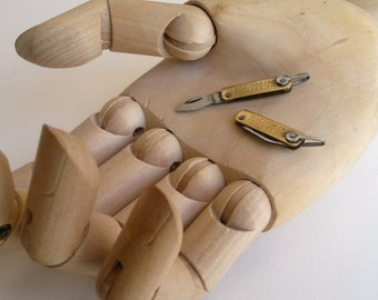knife miniature, folding knife size1typeB