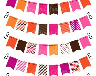 INSTANT DOWNLOAD, fall bunting banner for personal and commercial use