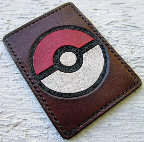 Pokemon Pokeball Leather Card Wallet