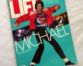 September 1984 Michael Jackson Vintage Life Magazine
