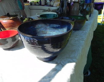 Midnight Sky Ceramic Bowl