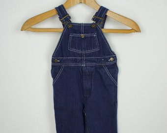 Vintage Toddlers Happy Kids Overalls size Small