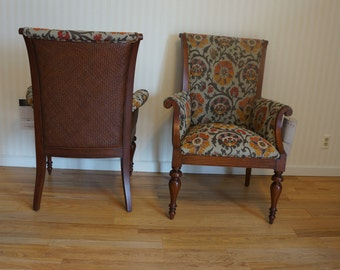 Dining Chairs / Host Chairs / Arm Chairs / Accent Chairs / Ashford Chairs by Ethan Allen 1 Pair