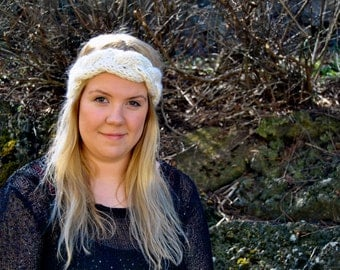 Eir Icelandic Wool Headband - Handmade with 100% Pure Icelandic Wool