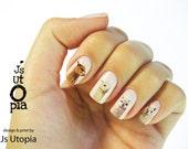 Lama glama / ラマ Nail Sticker