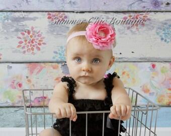 Baby Headban, Pink Baby Headband, Infant Headband, Newborn Headband, Toddler Headband, Girls Headband,