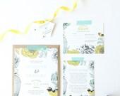Printable Wedding Invitation - DIY - Avery