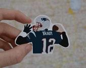 Tom Brady | New England Patriots | NFL Sticker Decal