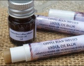 Coffee Bean Infused Under Eye Balm, Blended for the Reduction of Fine Lines, Wrinkles, Puffiness and Dark Circles .12oz slim tube