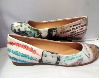 Sylvia Plath Literature Flats - Made to Order