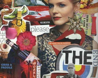 Magazine Clipping Collage